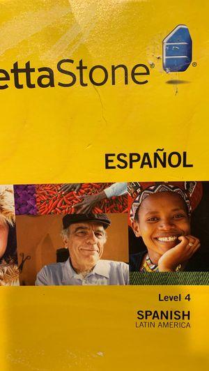 Rosetta Stone español for Sale in Saint Paul, OR