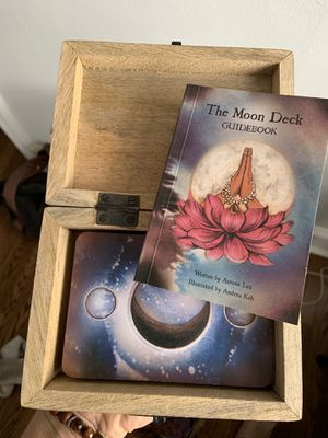 Brand new moon deck + beautiful wooden box for Sale in Chicago, IL