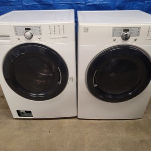Kenmore Washer And Electric Dryer Set Good Working Condition Set For $399 for Sale in Wheat Ridge, CO