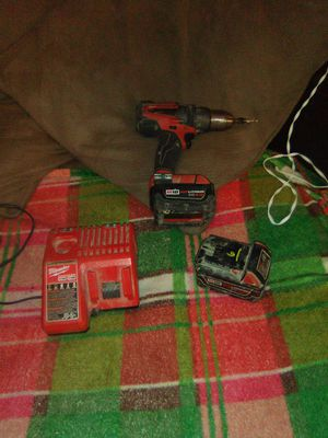 1drill/1charger/2batteries 4.0 for Sale in Caldwell, OH