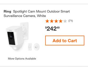 Ring SpotLight Cam for Sale in Oakland, CA