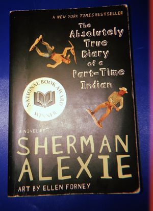 "A NY times bestseller ""The absolutely true diary of a part time time Indian by Sherman Alexie for Sale in Rockville, MD"