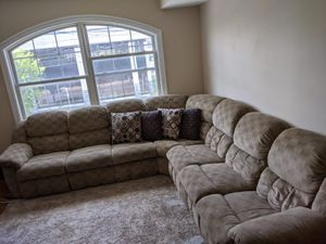 6 - piece Reclining Sectional Sofa for Sale in Paterson, NJ