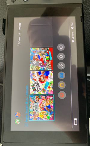 Nintendo Switch With Mario Odyssey for Sale in Palos Hills, IL
