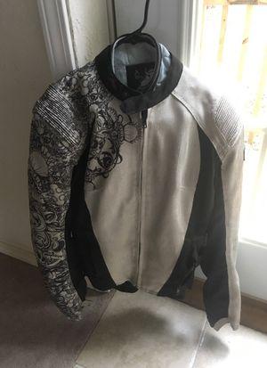 Woman's Sz Medium Motorcycle Jacket for Sale in Beckley, WV