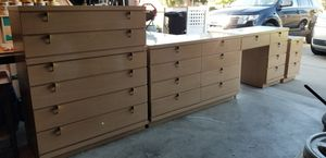 1950 Blonde Fashion Trend Mid Century Danish Modern Bedroom Furniture by Johnson Carpar for Sale in Macomb, MI