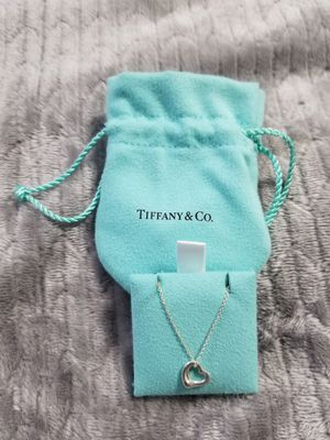 Tiffany & Co Open heart pendant necklace for Sale in Herriman, UT