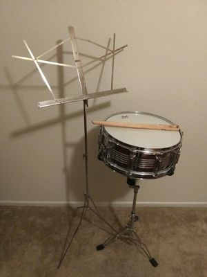 Student Snare drum & accessories for Sale in Glendale, AZ