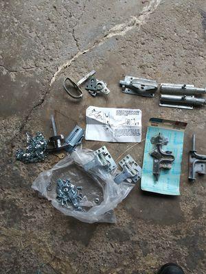 Assorted door hinges n locks for Sale in Parma, OH