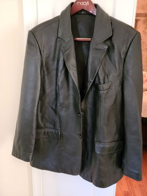 Men's leather jacket for Sale in NO POTOMAC, MD