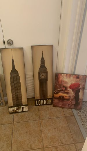 home decor/ travel decor for Sale in Orlando, FL