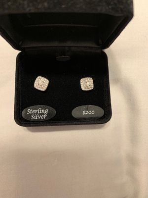Brand new sterling silver post earrings for Sale in Philadelphia, PA