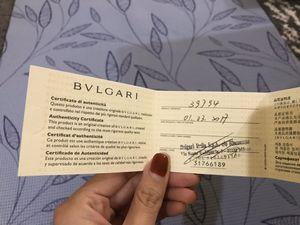 Bvlgari golden flat bag for Sale in Bellevue, WA
