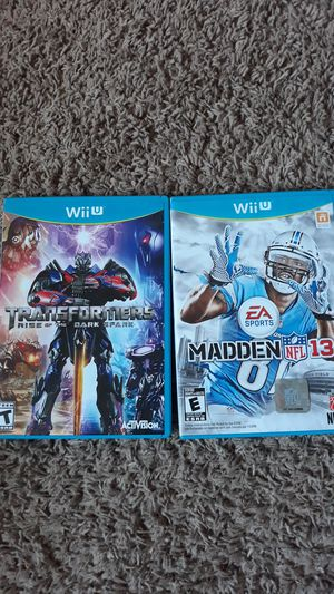 Nintendo wii u games. for Sale in Auburn, WA