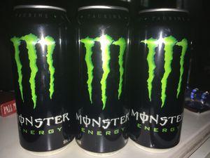 10 pack of monster energy drinks for Sale in Norwalk, CA