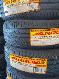 205/65r15 Arroyo Tires Nueva Con 45,000 Mil Millas De Garantía Las 4 for Sale in Cypress,  CA