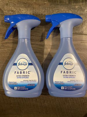 Febreze fabric extra strength spray $3 each for Sale in San Bernardino, CA