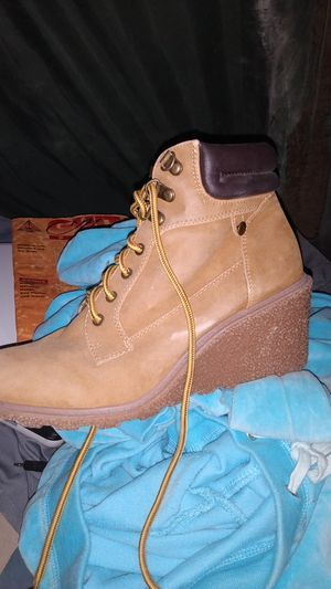 Woman's work boot fashion heels by Union Bay size 8.5 Wms for Sale in West Jordan, UT