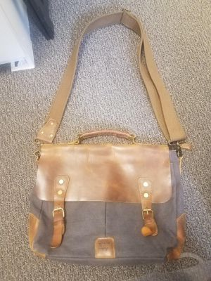 Brown and grey messenger bag for Sale in Seattle, WA