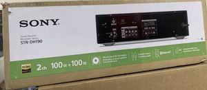Sony 2CH 100 + 100 Watt Receiver for Sale in Perth Amboy, NJ
