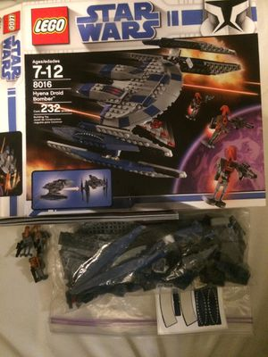 Lego Star Wars Hyena Droid Bomber 8016 for Sale in Herndon, VA