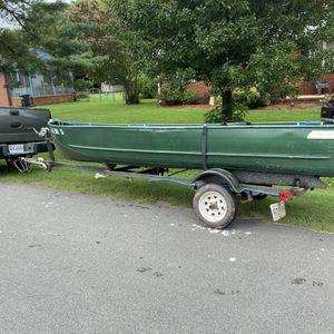 17 Ft Jon Boat for Sale in Richmond, VA
