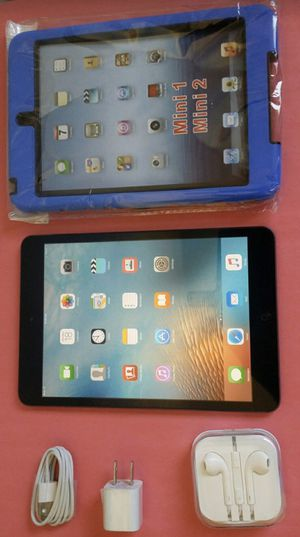 Apple Ipad Mini 16GB with complete Accessories (YouTube/ Netflix/ Facebook..) for Sale in El Monte, CA