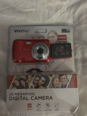 Vivitar 20 megapixel digital camera for Sale in Spring, TX