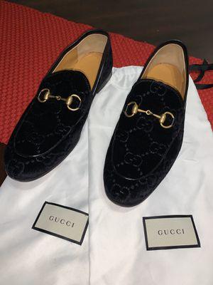 Gucci Jordaan GG velvet loafer for Sale in Coral Gables, FL