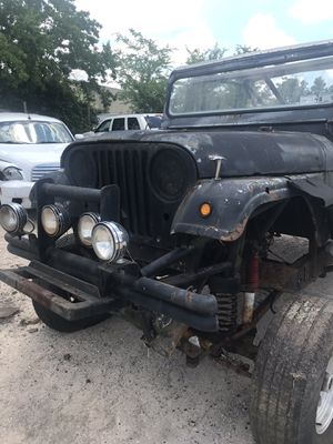 1963 Jeep Willis stretch parts 10.00 and up or sell complete project truck for Sale in Houston, TX