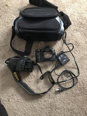 nikon D60, DX lens, case for Sale in Richmond, CA