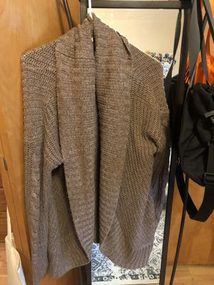 Brown sweater / cardigan for Sale in Portland, OR