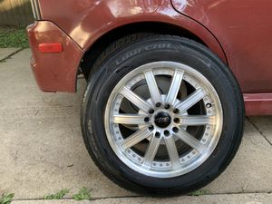 MP Motorsports tires and rims 185 65 r15 for Sale in Aurora, IL