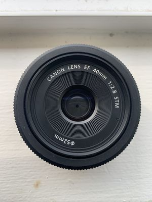 Canon EF 40mm 2.8 for Sale in Hampstead, MD