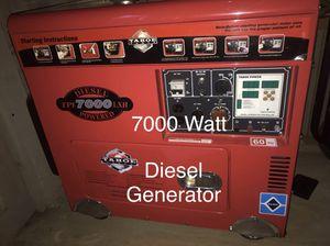 Diesel Generator with Remote for Sale in Lakehurst, NJ