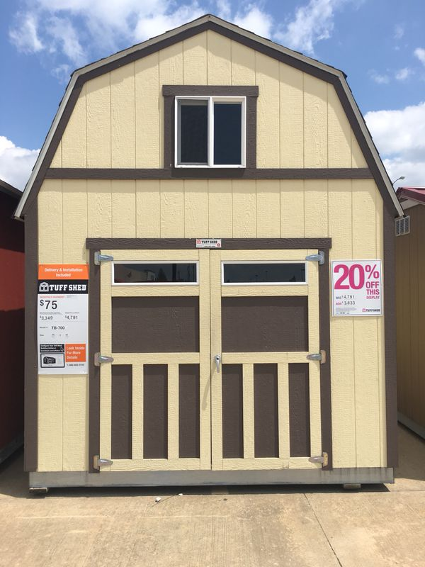 Tuff Shed Tb 700 For Sale In Fort Smith Ar Offerup