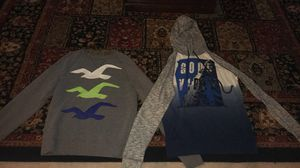 Hollister Sweater + Good Vibes Hoodie 2 for $30 for Sale in Nokesville, VA