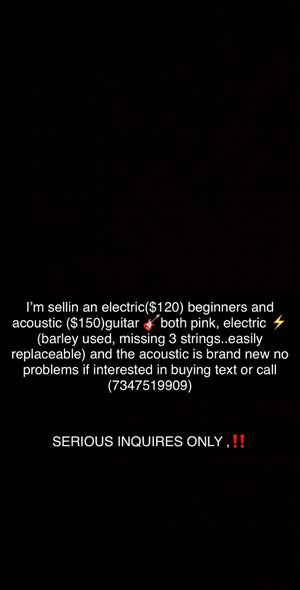 Beginners guitars ‼️for sale ‼️ for Sale in Redford Charter Township, MI