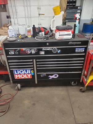 Snap on tool box filled with snap on and mac tools barely used for Sale in Norwood, MA
