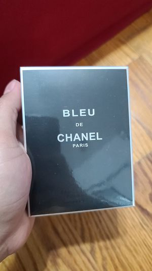 Bleu de chanel perfume 100ml for Sale in Hackensack, NJ