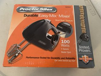 Proctor Silex Easy Mix 5-Speed Hand Blender 62507 NEW IN BOX for Sale in Beaverton,  OR