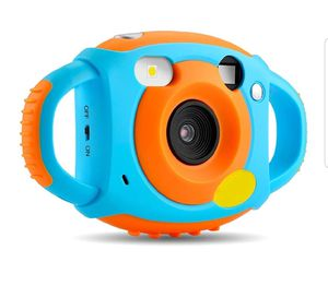 AMKOV Kids Camera Digital Camera for Kids Video Dual Camera 1.77 HD Color Screen 5 MP Rechargeable Camera for Kids, for Sale in Fontana, CA