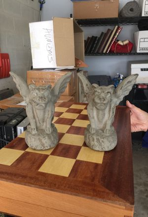 Set of Gargoyle Candle Holders for Sale in McLean, VA