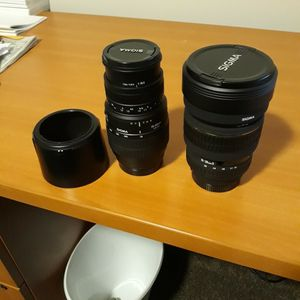 Sigma Camera Lens for Sale in Normandy Park, WA