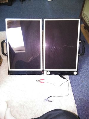 Solar powered battery tender for Sale in New Bedford, MA