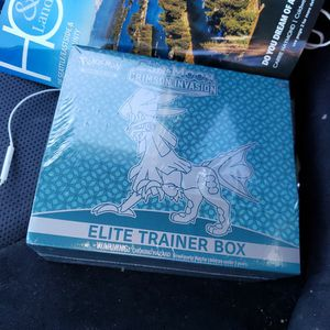 Pokemon Elite Trainer Box Crimson Invasion for Sale in Everett, WA