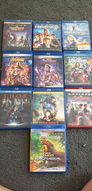 Marvel movies for Sale in Marysville, WA