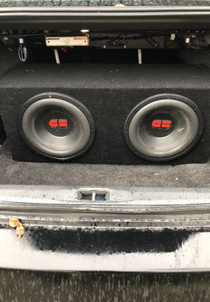 GS REDLINE COMPETITION SUBWOOFERS for Sale in Tacoma, WA