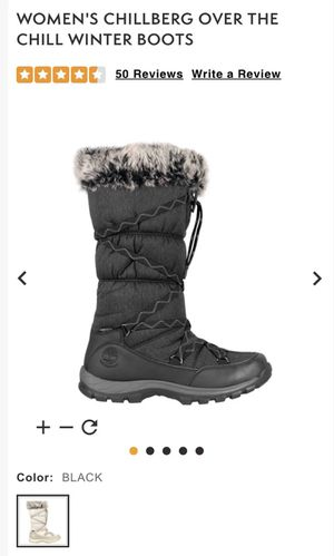 Timberland Women's Black Snow Boot for Sale in Freehold, NJ