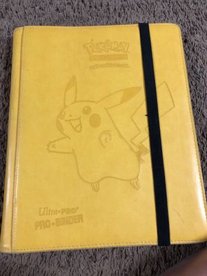 Pokémon binder for Sale in Clyde, TX